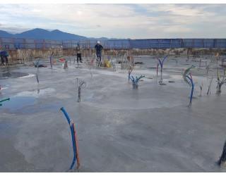 2020.08.28 지상 17층 바닥 콘크리트타설 완료
