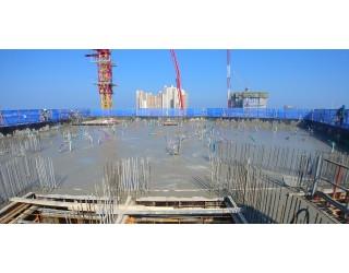 2020.03.05 지상 10층 바닥 콘크리트 타설 완료
