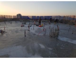 2020.10.20 지상 20층 바닥 콘크리트타설 완료