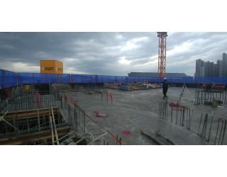 2019.12.17 지상 5층 바닥 콘크리트 타설 완료
