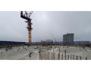 2020.07.10 지상 15층 바닥 콘크리트 타설 완료