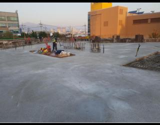 2019.11.08 2층 바닥 콘크리트 타설 완료