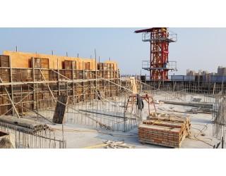 2020.11.13 옥상층 바닥 콘크리트타설 완료