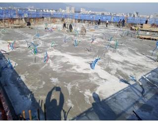 2020.03.30 지상 12층 바닥 콘크리트 타설 완료