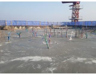 2020.03.18 지상 11층 바닥 콘크리트 타설 완료