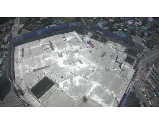 2020.09.18 지상 18층 바닥 콘크리트타설 완료