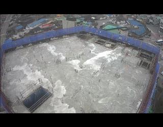 2020.02.20 지상 9층 바닥 콘크리트 타설 완료
